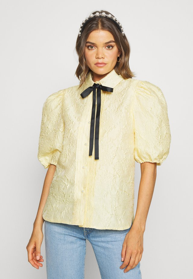 BUTTERCUP PUFF SLEEVE SHIRT - Camicetta - yellow