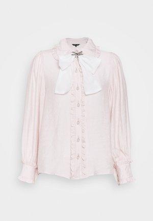 FONDANT RUFFLE BOW - Košile - pink