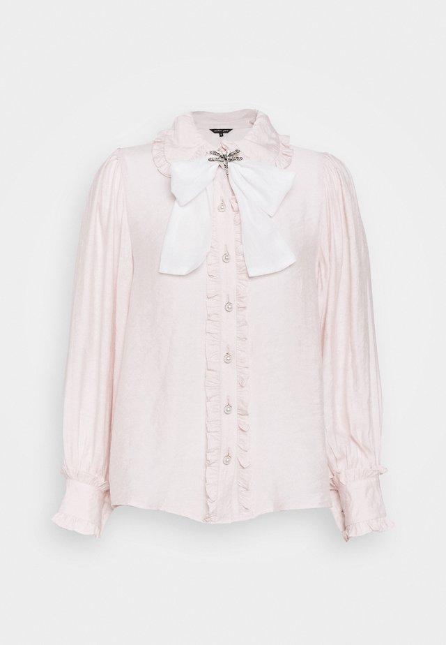 FONDANT RUFFLE BOW - Koszula - pink