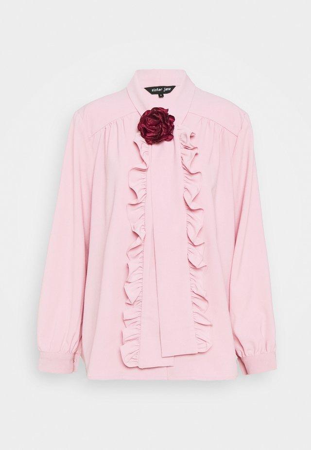 POWDER ROSE BOW - Pusero - pink