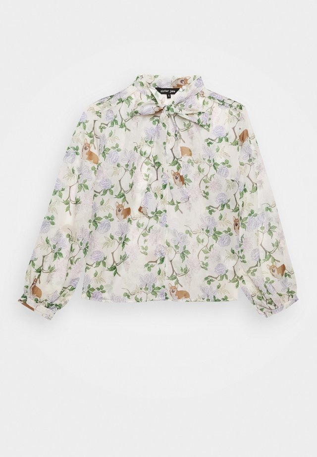 ORCHARD BLOOM BOW - Blus - cream