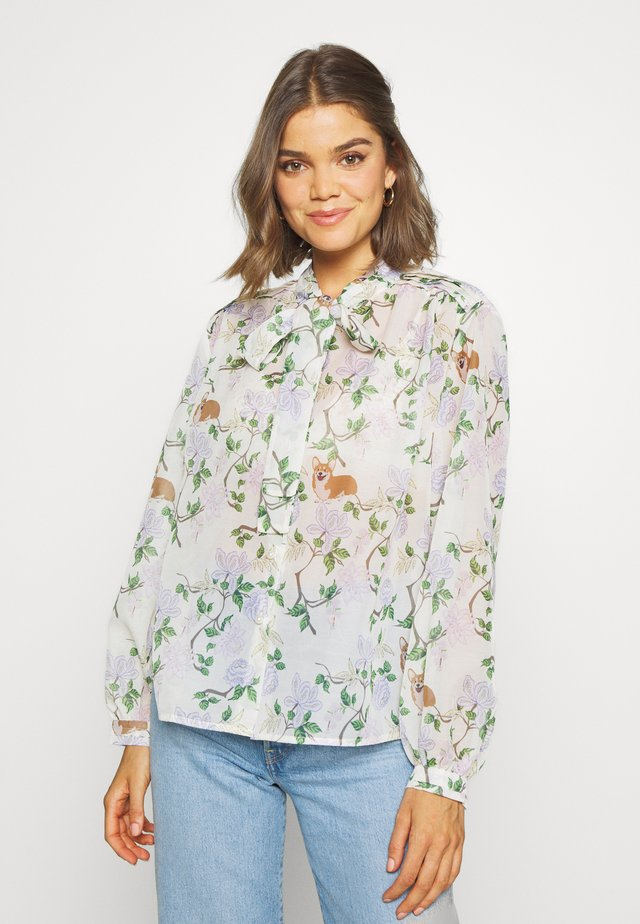 ORCHARD BLOOM BOW - Camicia - cream