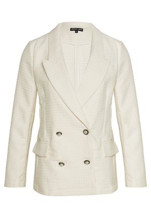 ON THE ROAD TEXTURED - Blazer - cream