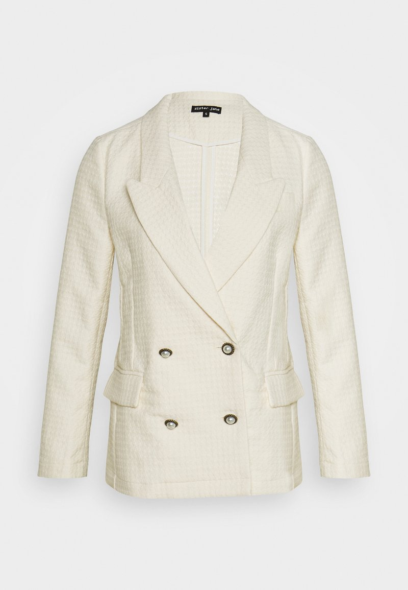 Sister Jane - ON THE ROAD TEXTURED - Blazer - cream