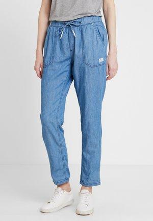 LANG - Kalhoty - blue denim
