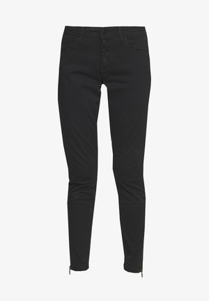 ANKLE - Jeansy Slim Fit - black