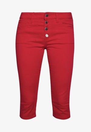 Short en jean - fire red