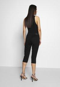 Q/S designed by - Jeans Short / cowboy shorts - black - 2