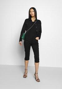 Q/S designed by - Jeans Short / cowboy shorts - black - 1