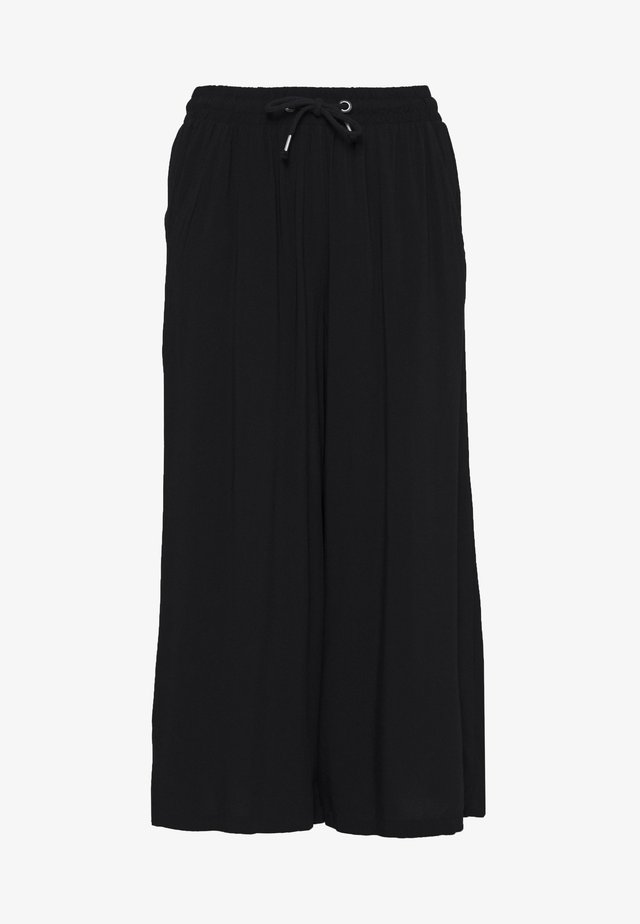 HOSE - KURZ - Trousers - black