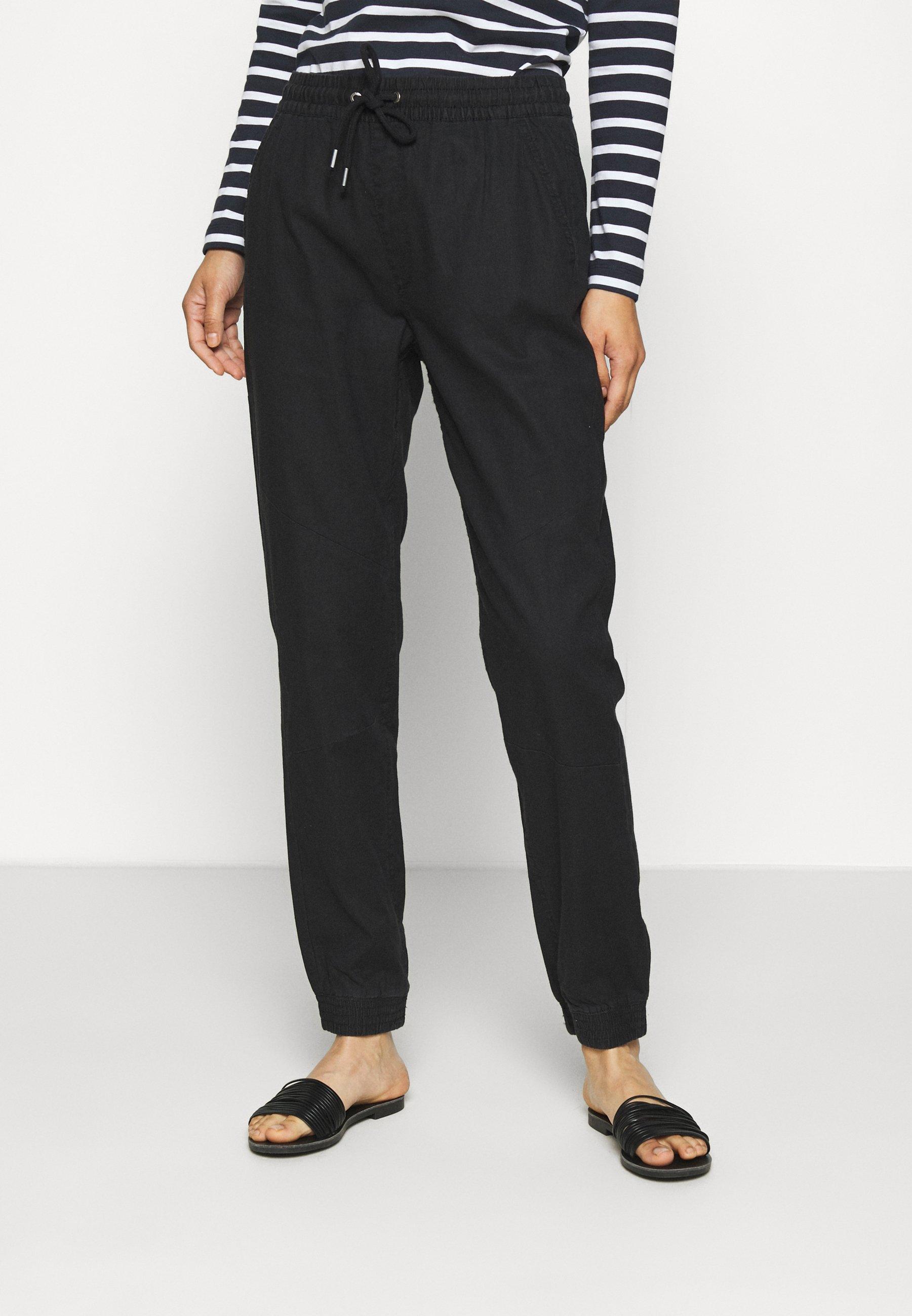 QS designed by Pantalon classique black ZALANDO.FR