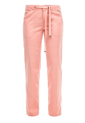 Trousers - coral rose