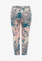 Trousers - coral aop