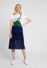 Q/S designed by - A-line skirt - black/roya - 1