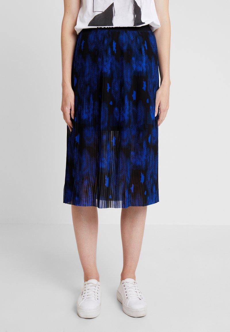 Q/S designed by - A-line skirt - black/roya