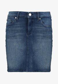 Q/S designed by - ROCK KURZ - Denimová sukně - blue denim - 4