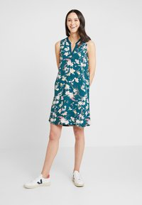 Q/S designed by - Day dress - teal - 1