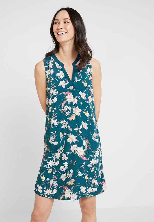 Day dress - teal