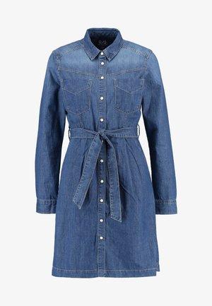 KURZ - Sukienka jeansowa - blue denim