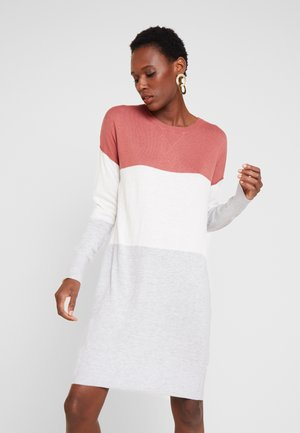KURZ - Jumper dress - brick dust