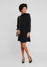 Q/S designed by - KURZ - Day dress - black - 2