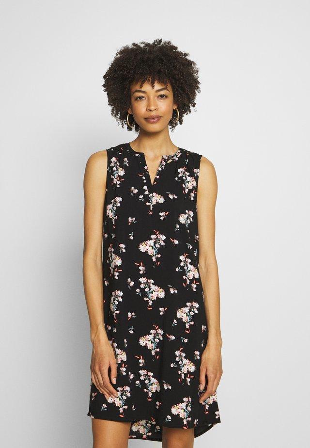 Korte jurk - black all
