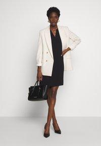 Q/S designed by - KURZ - Day dress - black - 1