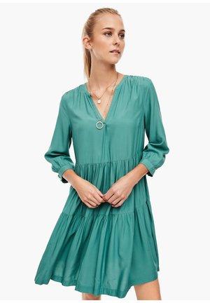Day dress - sea green