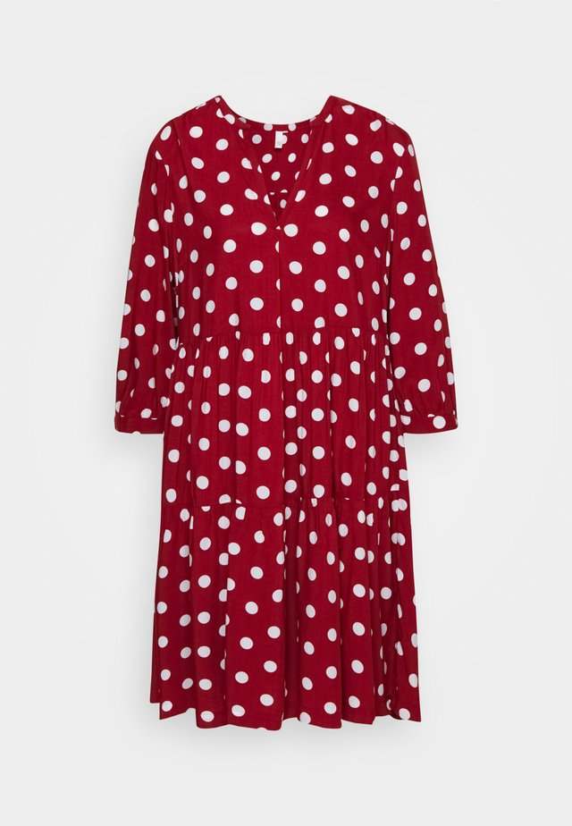 Sukienka letnia - rust