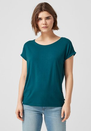 T-shirt con stampa - blue green