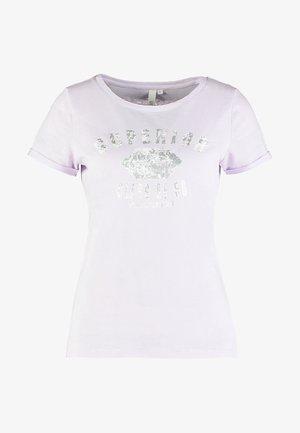 Print T-shirt - chalk pink