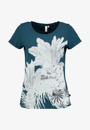 T-shirts med print - petrol