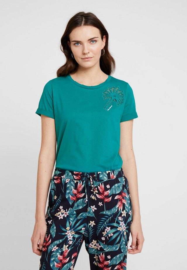 KURZARM - Print T-shirt - tide pool