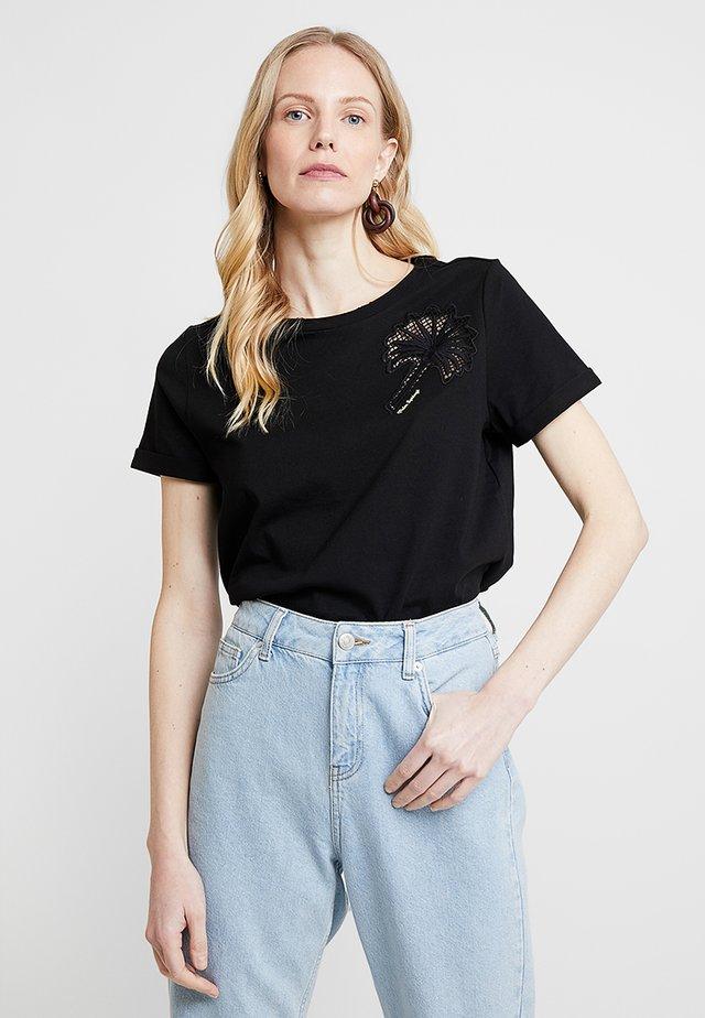 KURZARM - T-Shirt print - black
