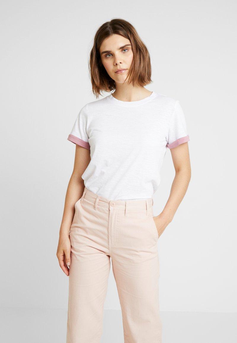 Q/S designed by - KURZARM - T-Shirt print - white