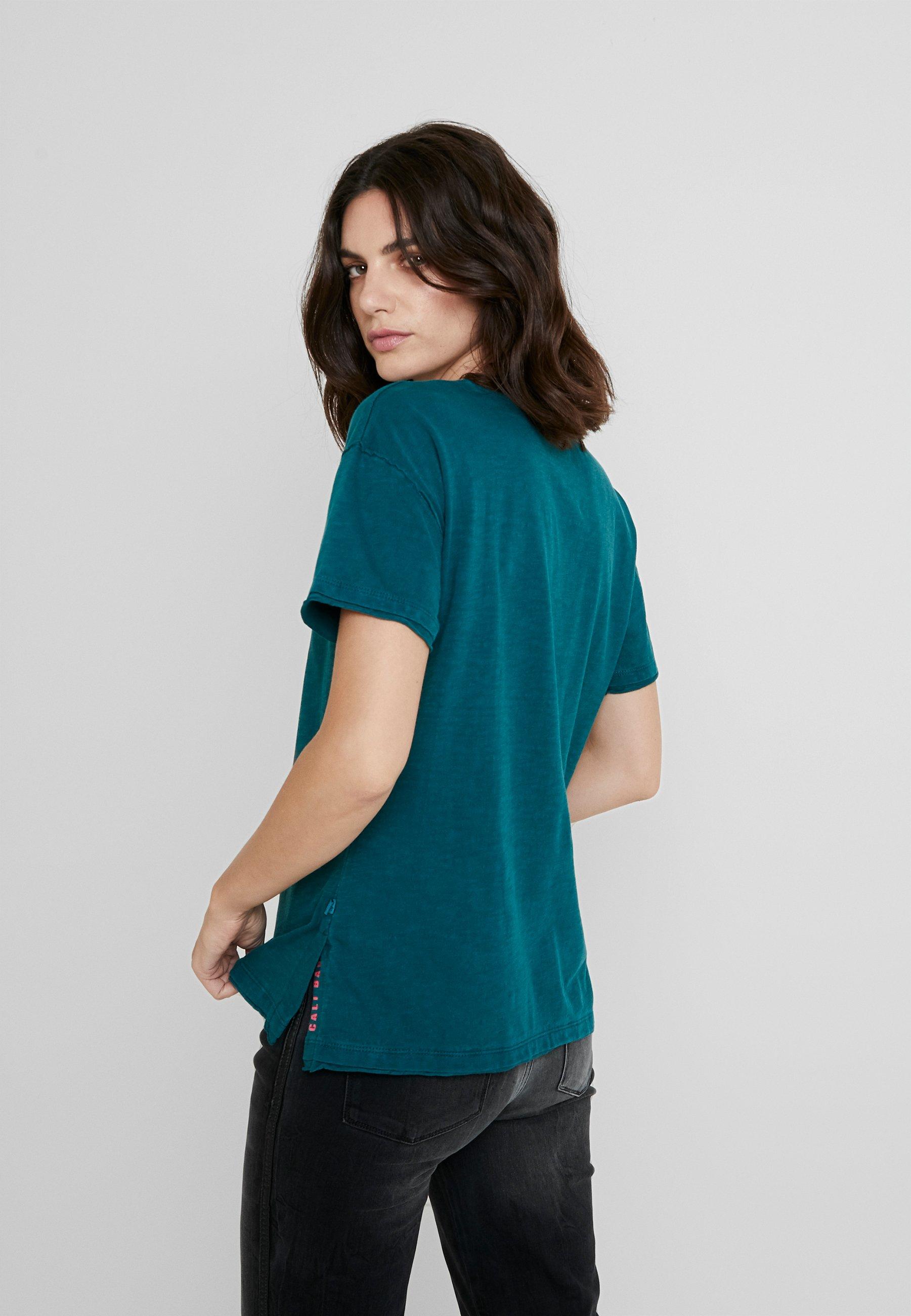 Q KurzarmT shirt Basique s Tropical Designed By Green gY7bfy6v