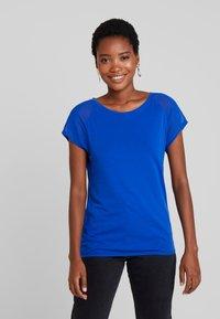 Q/S designed by - T-shirt print - royal blue - 0