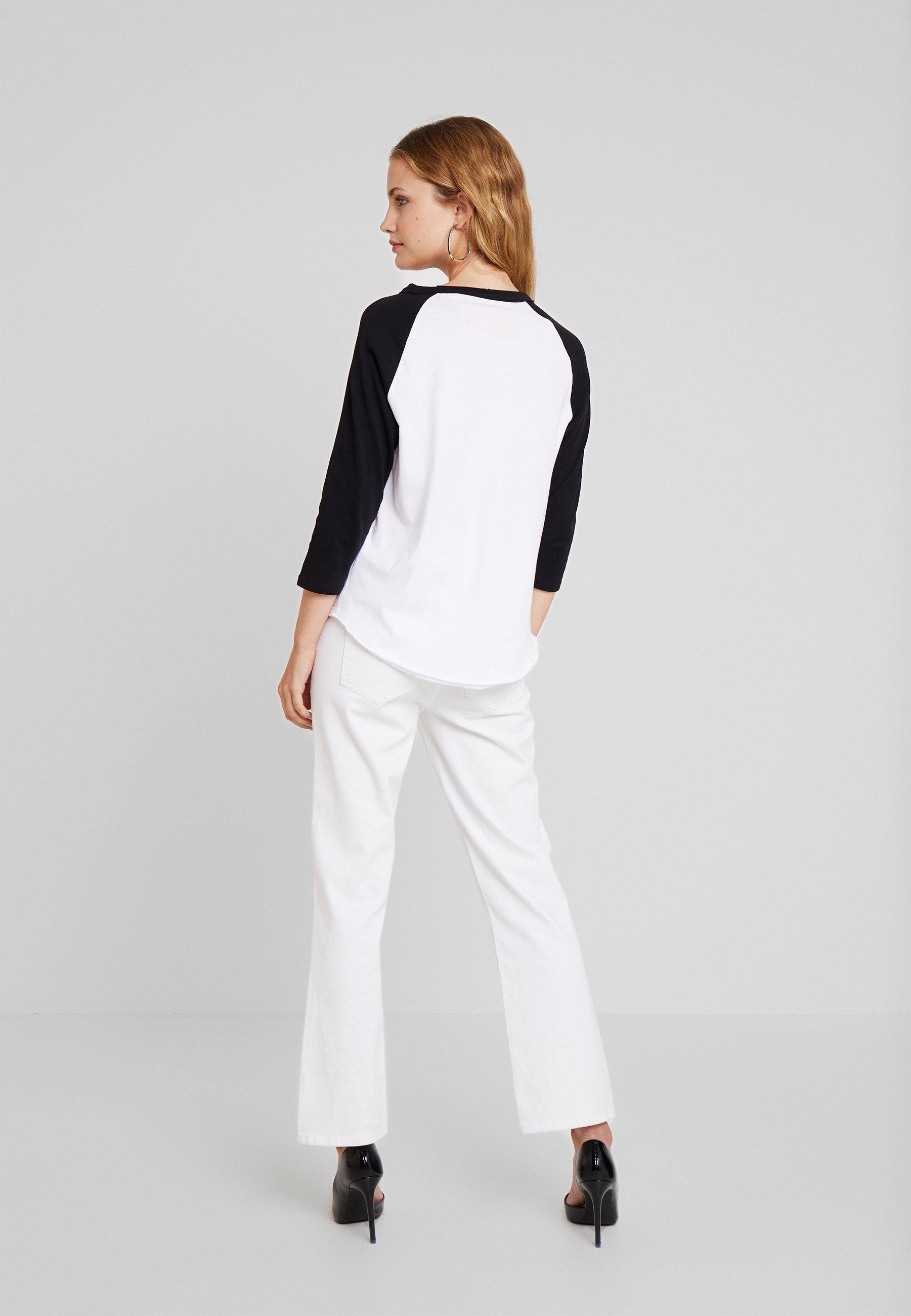 À Manches Q ArmT s White Designed Plac 3 shirt By 4 Longues qMVUSzp