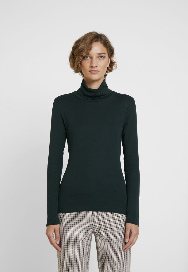 Q/S designed by - LANGARM 2 PACK - Maglietta a manica lunga - dark green