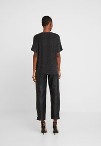 Q/S designed by - T-shirts print - black - 2
