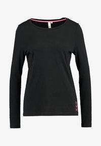 Q/S designed by - T-shirt à manches longues - black - 4