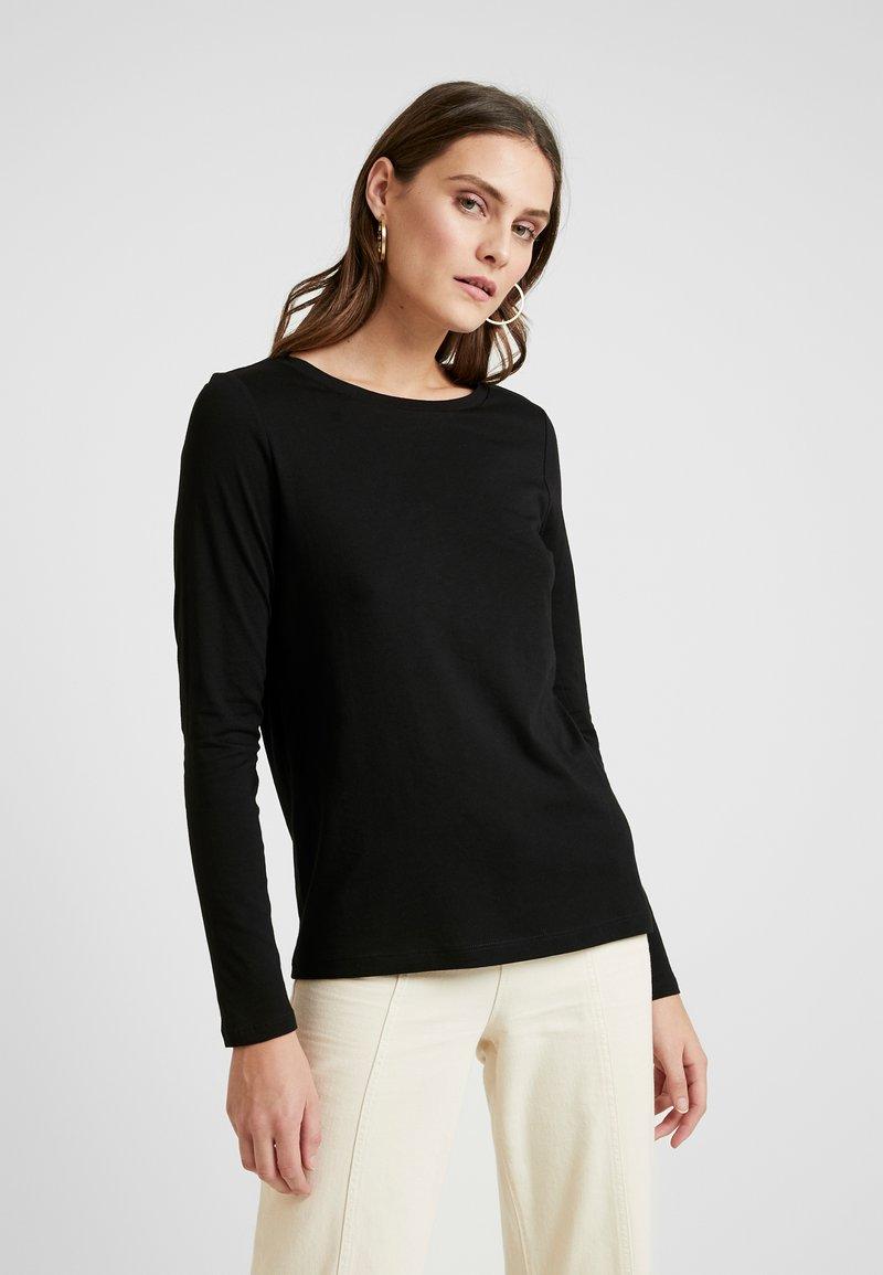 Q/S designed by - T-shirt à manches longues - black