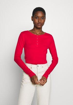 Camiseta de manga larga - flame red