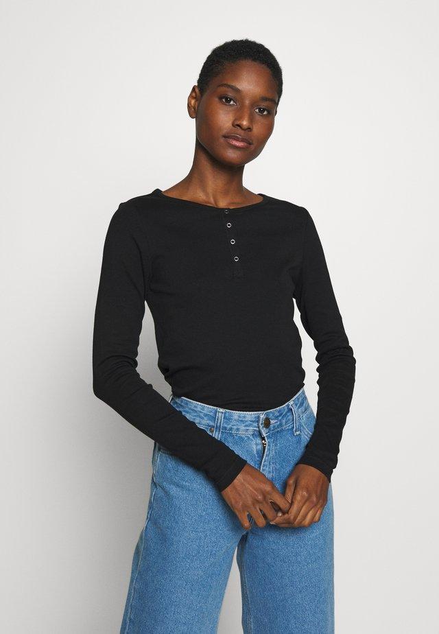 LANGARM - Långärmad tröja - black