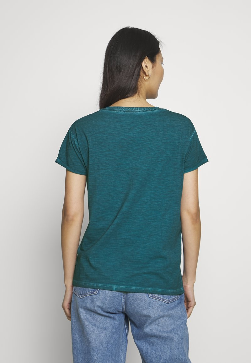 Q/S designed by - KURZARM - T-shirt basique - petrol