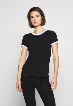 T-SHIRT - KURZARM - T-shirt basic - black