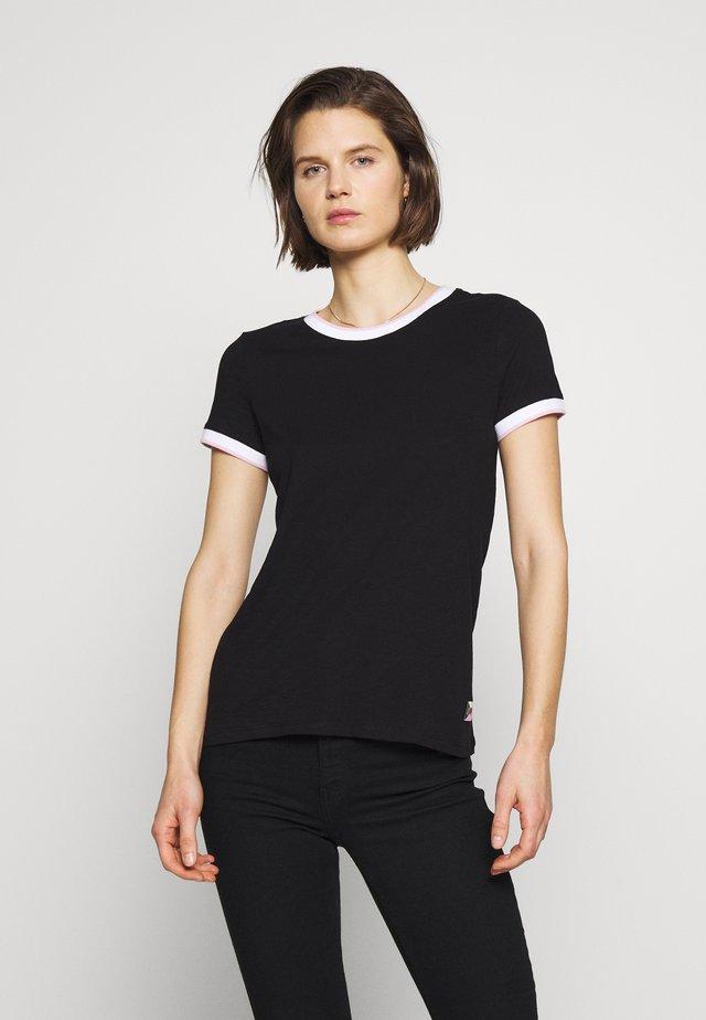 T-SHIRT - KURZARM - T-shirts basic - black
