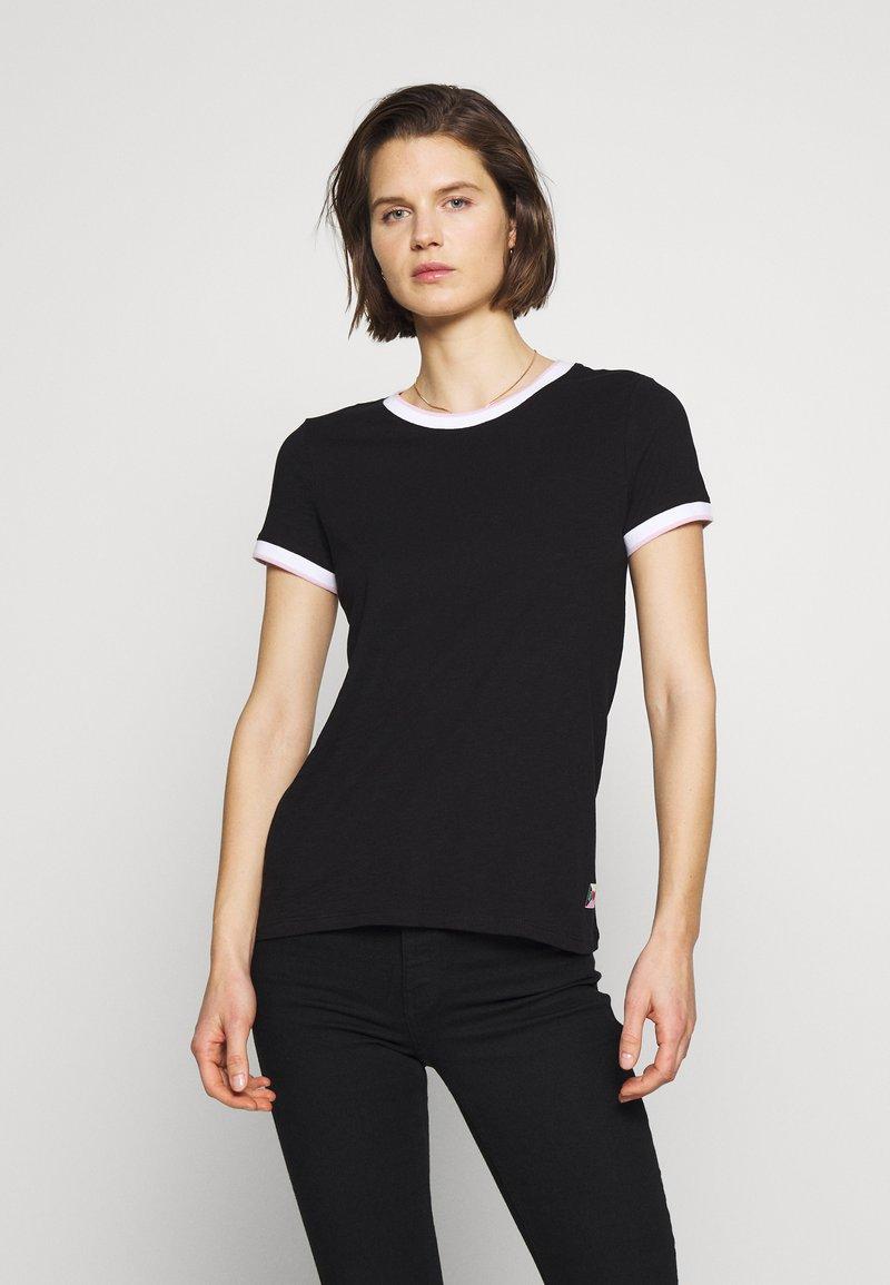 Q/S designed by - T-SHIRT - KURZARM - T-shirt basique - black