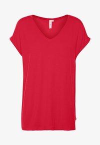 Q/S designed by - KURZE ÄRMEL - T-shirt basique - red - 3