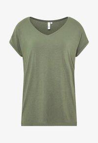 Q/S designed by - KURZE ÄRMEL - T-Shirt basic - green - 4